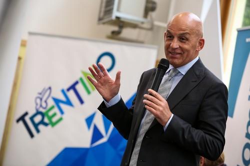 Il presidente del Comitato Trentino Tiziano Mellarini
