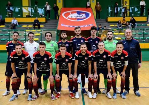 Foto di squadra per l'Olympia Rovereto, al secondo successo consecutivo