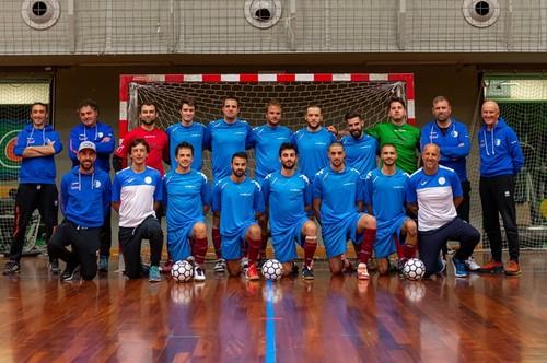 La formazione del Futsal Fiemme al completo