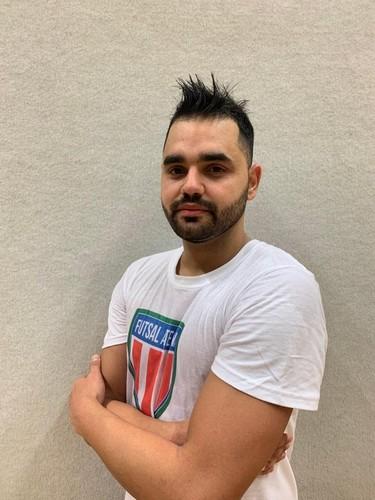Vilmar Pereira, autore del gol per il Futsal Atesina