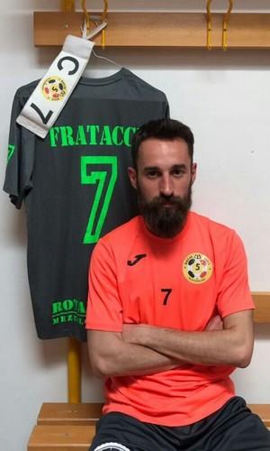Beppe Fratacci con la maglia del Rotal Five