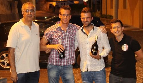 Per Cristian Veronese e Christian Pittigher il premio per la serie D girone B