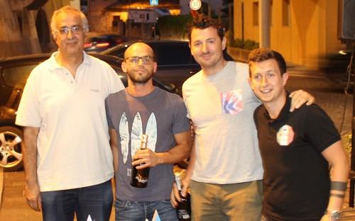 Davide Petrolli e Stefano Voltolini del Lagarina premiati per il girone A della serie D