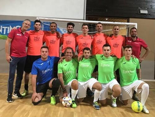 La capolista Altipiani Calcio a 5