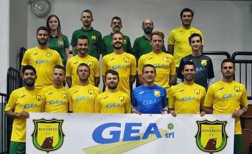 La formazione del Calcio a 5 Rovereto