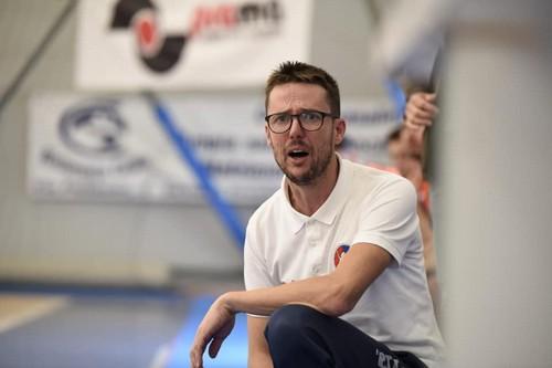 L'allenatore dell'Olympia Rovereto Massimo Cristel