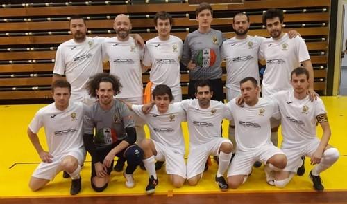 La squadra del Fraveggio, qui alle Final Four di Coppa