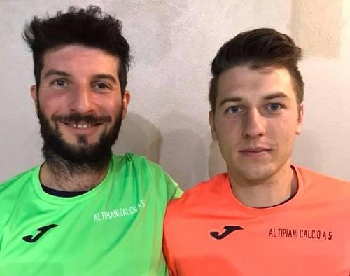 Matteo e Moreno Nicolussi Paolaz, in vetta alla classifica marcatori