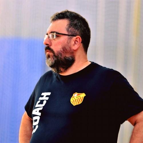 L'allenatore del Bubi Merano Giuseppe Saiani