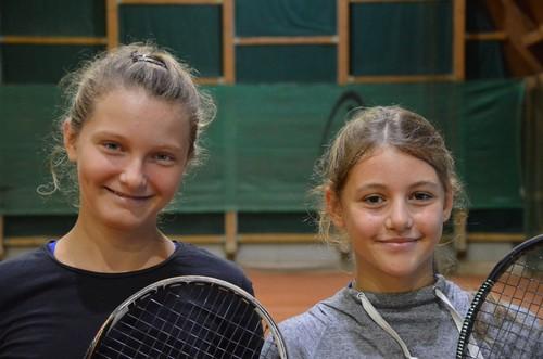 Natalie Cinkova e Greta Greco Lucchina