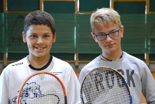 Stefan Vedovelli e Alex Brusadin