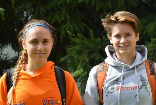 Sara Dradi e Marion Viertler