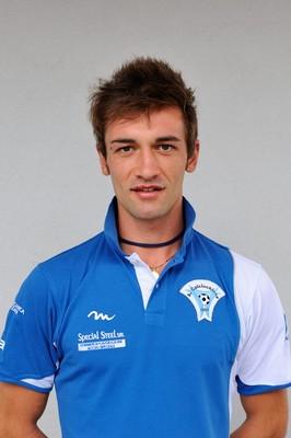 Manuel Fanoni, autore del secondo gol biancazzurro