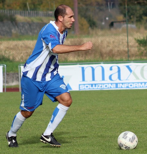 Marco Zaninelli, esperto capitano biancazzurro