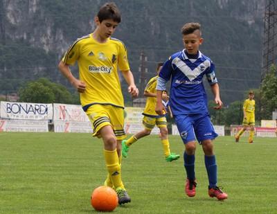 Una fase di Trento-Brescia nell'edizione 2016 del torneo