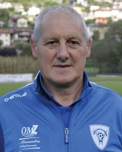 L'esperto allenatore Dario Zimelli