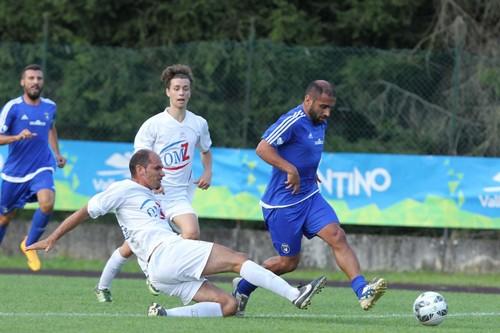 Capitan Marco Zaninelli ha cercato senza successo la via del gol