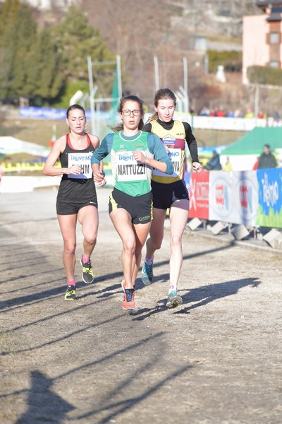 Isabel Mattuzzi conduce la gara Internazionale Femminile (foto M. Volcan)