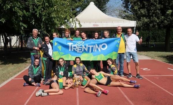 La squadra Allieve che ha vinto la finale interregionale Nord-Est (foto Faccchini)