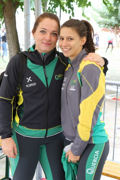 Lara Conci con Lisa Bona (foto Faccchini)