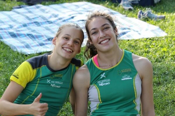 Cecilia Scarpiello con Sofia Bonella (foto Facchini)