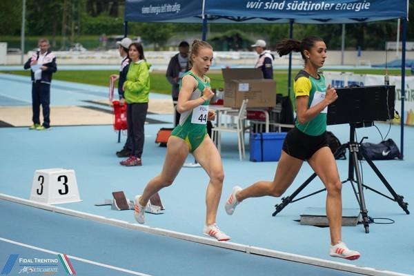 Elisa Ducoli e Sophia Favalli impegnate sui 1500m