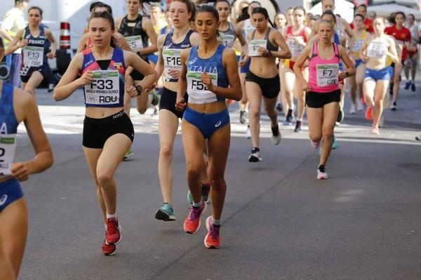 Elisa Sucoli in gara ad Oderzo