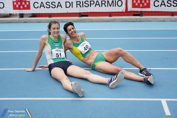 Vittoria Giordani (n.51) con Adelaide Sansoni (n.49)