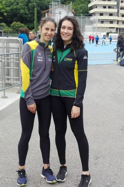 Caterina Palestra e Sofia Bonella