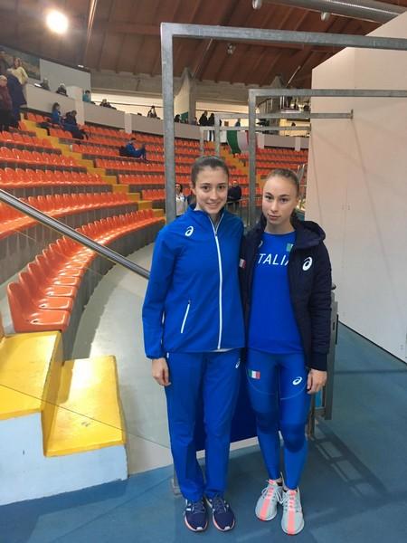 Vittoria Giordani con Sophia Favalli (foto M. Favalli)