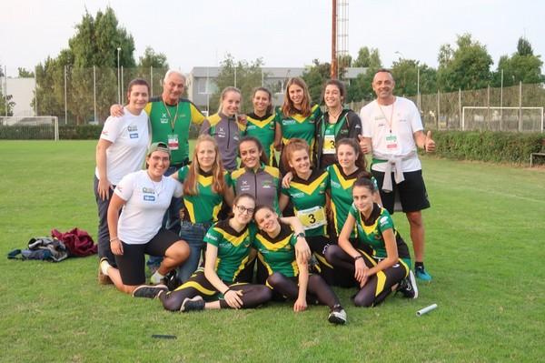 La squadra Allieve con i tecnici Romeo, Baitella e Piazzola