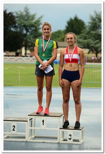 Stella Tronchin, campionessa regionale assoluta (foto Vernesoni)