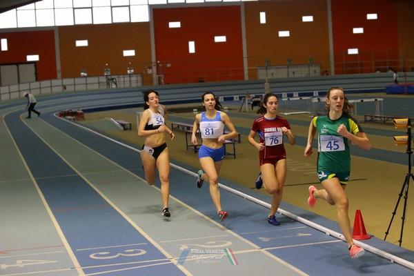 Sofia Trettel stabilisce ben 3 personali: 60m, 200m, 400m (foto Atl-eticamente)