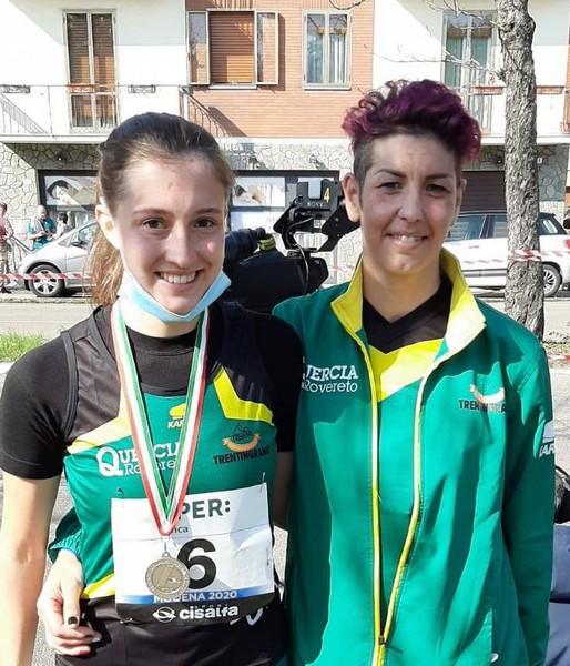 Vittoria Giordani e Adelaide Sansoni