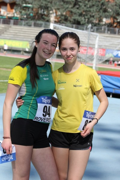 Angelica Brusco con Dori Nicole Cervantes