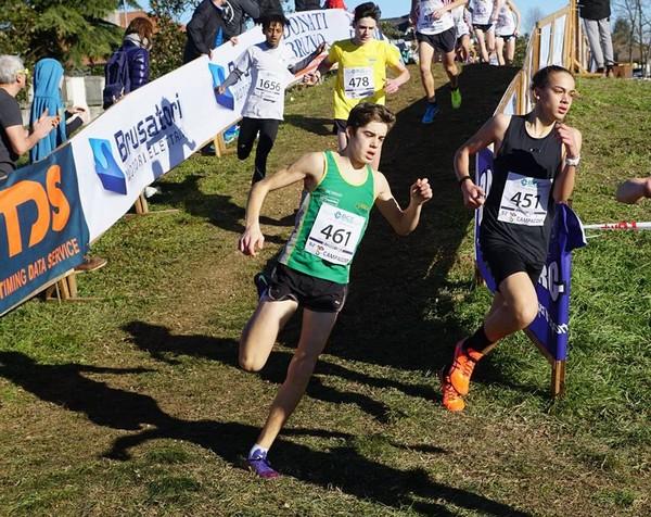 L'ottimo Simone Valduga si aggiudica la gara del Campaccio degli U16  (foto Atleticamente)