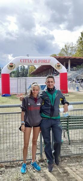 Noemi Delladio con il suo tecnico Michele Degiuli
