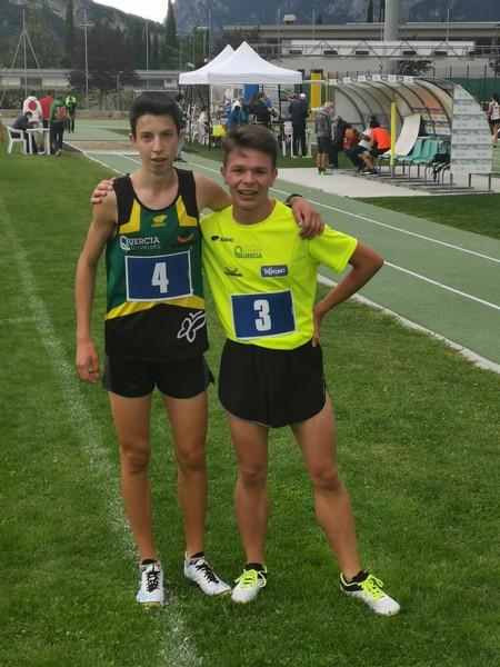 Francesco Ropelato (nr.4) con Alessio Alteri
