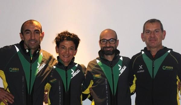 Da simistra, Alessandro Eccheli, Sara Baroni, Giuseppe Costanzo e Marco Tamburini