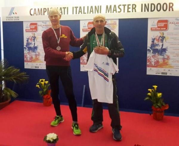Ettorino Formentin campione italiano M70 sui km.3 di marcia