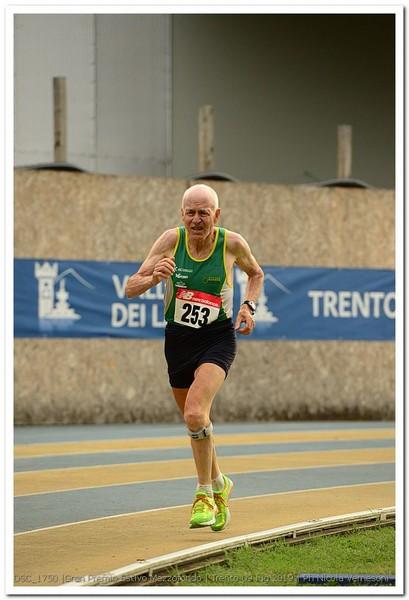 Zanon Giuliano, categoria M75 (foto Vernesoni)