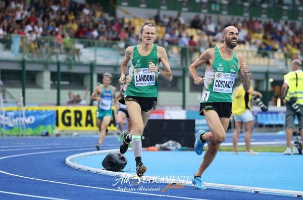 Luca Landoni e Giuseppe Costanzo si sono sfidati sugli 800m del Palio (foto Atl-eticamente)