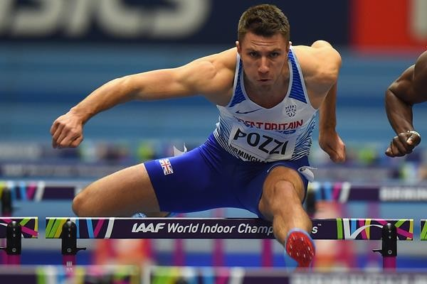 Andrew Pozzi sara' uno dei protagoniste del Palio 2020, in gara sui 110hs