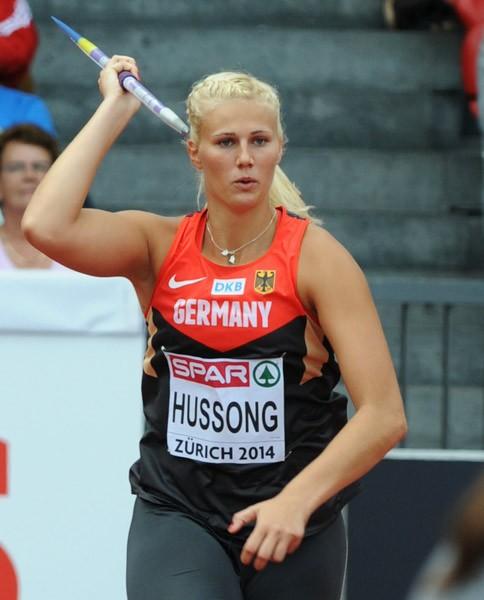 Cristia Hussong (Germania), medaglia d'oro a Berlino nel Giavellotto