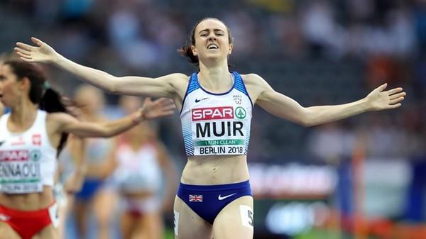 Laura Muir oro sui 1500m agli Europei di Berlino, correra' gli 800m al Palio