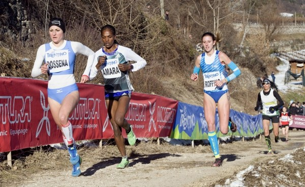 Un passaggio della gara Internazionale femminile