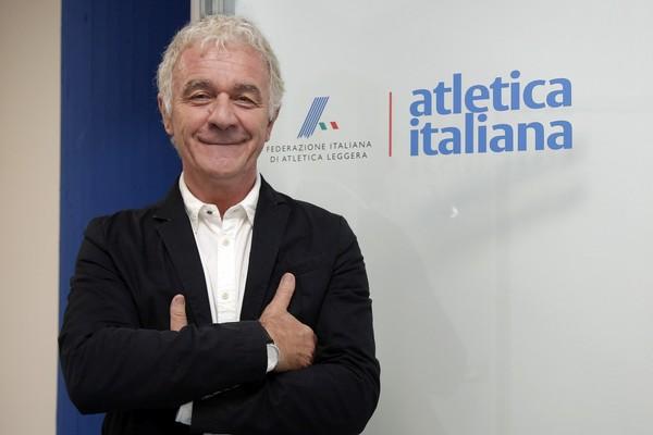 Prof. Antonio La Torre, DT della nazionale italiana (foto FIDAL/Colombo)