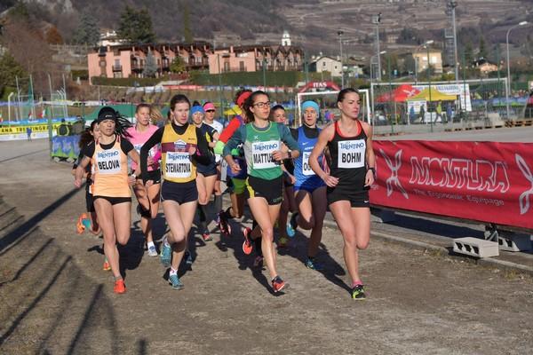 Partenza della gara Internazionale femminile (foto M. Volcan)