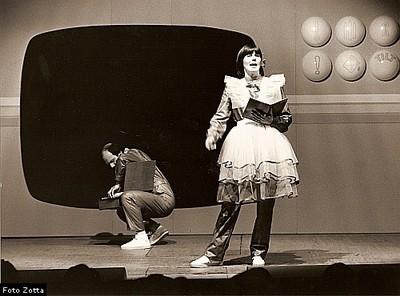 """1980: """"Teleroto"""", Nicoletta Girardi e Ferdy Andreatta"""