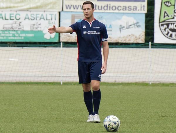Andrea Pancheri, capitano del Lavis terzo della classe